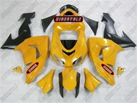 Kawasaki ZX10R Pearl Yellow Fairings