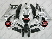 Yamaha YZF-600R Electric Silver Fairings
