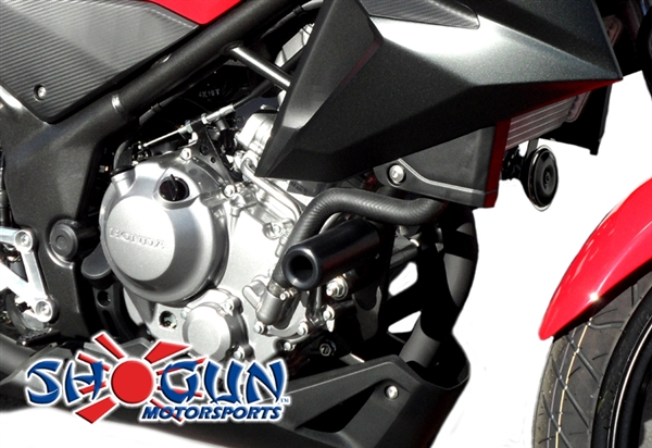 Honda CB300F 2015-2016 Shogun No Cut Frame Sliders