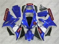 Electric Blue R1 Fairings