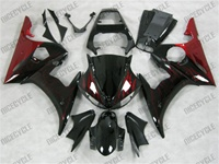 YZF R6 Fire Red Fairings