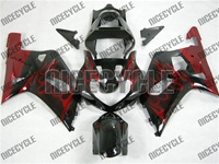 GSXR 1000 Red Blaze Fairings