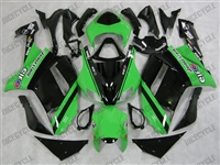 Monster-uos Green Kawasaki ZX6R Fairings
