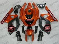 YZF 600R Sunburst Orange Fairings