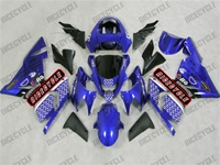 Kawasaki ZX10R Plasma Blue Race Fairings