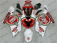 Lucky Strike Red Suzuki GSX-R Fairings