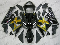 Kawasaki ZX6R Gold X Fairings