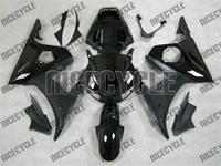 R6 Fairings Black On Black