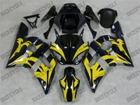 YZF R6 Yellow/Black Fairings