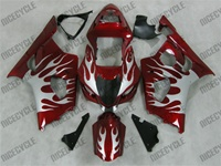 Suzuki GSXR 1000 Candy Red Fire Fairings