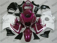 Purple/White Suzuki GSX-R 1300 Hayabusa Fairings