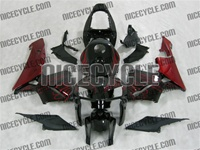 Honda CBR600RR Red Flames Fairings