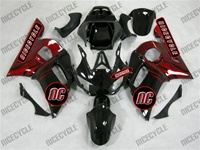 Yamaha YZF-R6 OEM Style Red/Black Fairings