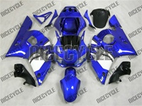 Yamaha YZF-R6 Plasma Blue Fairings