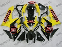 Black/Yellow Suzuki GSX-R 1000 Fairings