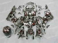 Honda CBR600RR Airbrushed Skull Fairings