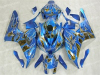 Airbrushed Honda CBR600RR Motorcycle Fairings