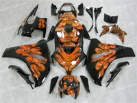 Airbrushed Honda CBR 1000RR Fairings