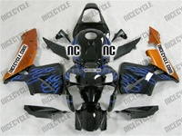 Honda CBR600RR Blue Flame/Gold Fairings