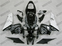 Honda CBR600RR White Flame Fairings