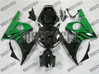 Yamaha YZF-R6 Green Flame Fairings