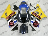 Suzuki GSX-R 1000 Yellow/Blue Fairings