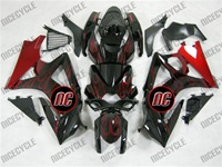 Blazing Red Suzuki GSX-R 1000 Fairings