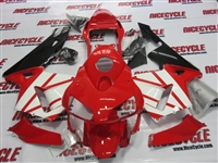 Honda CBR 600RR Red/White Fairings