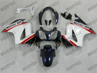 Honda VFR-800 White/Blue/Red Fairings