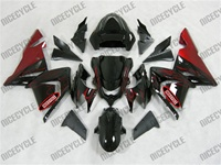 Kawasaki ZX10R Red Flame Fairings