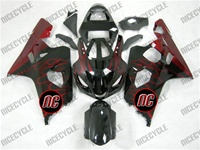 Fire Flames Suzuki GSX-R 600 750 Fairings