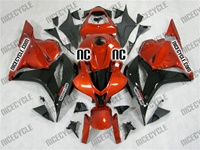 Honda CBR600RR Metallic Orange Fairings