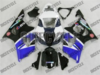 Blue/White/Black Suzuki GSX-R 1000 Fairings