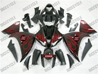 Yamaha YZF-R1 Flaming Red Fairings