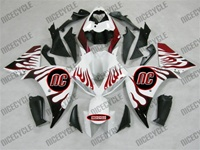 Yamaha YZF-R1 White Flames Fairings