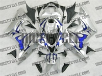 Honda CBR600RR Metallic Blue Tribal Fairings