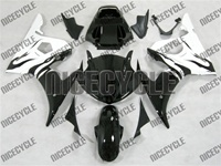 Yamaha YZF-R6 White Flame Fairings