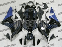 Honda CBR600RR Blue Fire Fairings