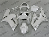 Kawasaki ZX6R Pearl White Fairings