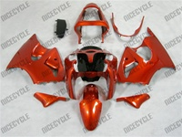 Kawasaki ZX6R Candy Orange Fairings
