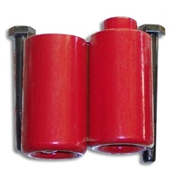 Red Frame Slider Set for Honda CBR929RR & CBR954RR (product code# A2539R)