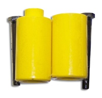 Yellow Frame Slider Set for Honda CBR929RR & CBR954RR (product code# A2539Y)