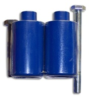 Blue Frame Sliders for Yamaha R6 S (03-09) (product code# A2546BU)
