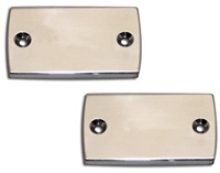 Hayabusa Polished Master Cylinder Cap Set. (Product Code #A3002)