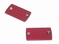 Hayabusa Master Cylinder Cap Set ANODIZED RED (Product Code #A3002R)