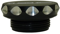 ZX14 (06-08) OIL CAP ANODIZED ALUMINUM (products code #A3057AB)