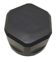 BLACK ANODIZED SUZUKI OIL CAP (product code# A3169AB)