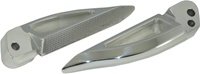 Blade Style Polished Rear Footpeg Set for Suzuki Hayabusa 99-07 (product code: A4262)