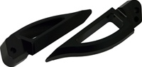 Blade Style Anodized Black Rear Footpeg Set for Suzuki Hayabusa 99-07 (product code: A4262B)