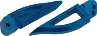 Blade Style Anodized Blue Rear Footpeg Set for Suzuki Hayabusa 99-07 (product code: A4262BU)